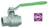 Kugelhahn aus Edelstahl, DVGW Zulassung für Trinkwasser